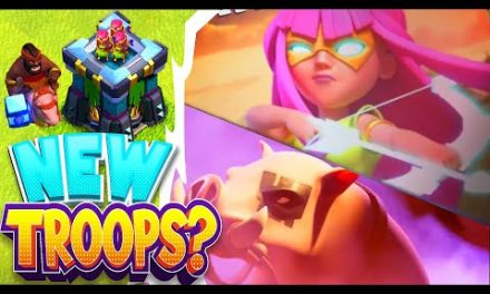 "New SUPER TROOPS Reveal?!? ""Clash Of Clans"" in-depth look"