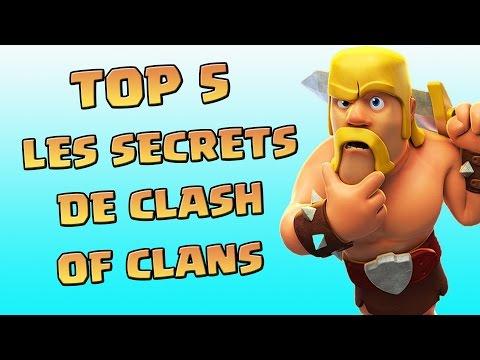 TOP 5 Des Meilleurs Secrets | Clash Of Clans