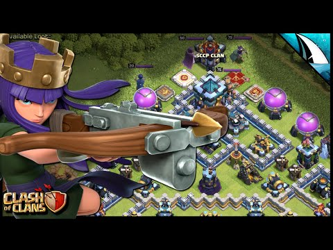 Can I Keep The Queen Alive?!? Time to QUEEN CHARGE Lalo! | Clash of Clans