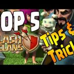 TOP 5 TIPS & TRICKS FOR CLASH OF CLANS! – Make Gameplay Easier! – CoC Useful Tips