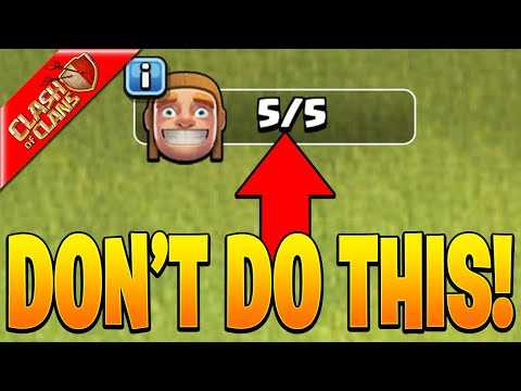 THE SECRET TO MAX YOUR BASE AS FAST AS POSSIBLE! – Clash of Clans