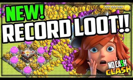 INCREDIBLE, Record Loot in Clash of Clans! No Cash Clash #150!