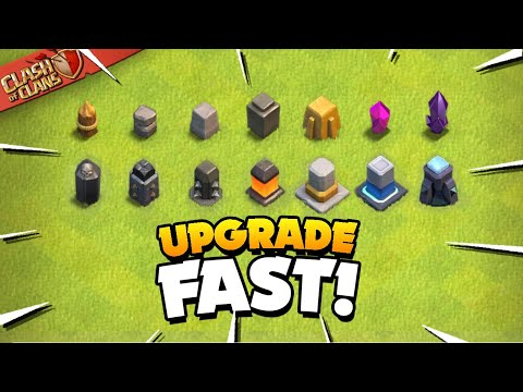 Secrets to Upgrade Your Walls Fast (Clash of Clans)