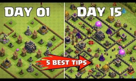 HOW TO MAX YOUR TOWNHALL FAST in Clash of Clans