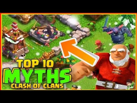 Top 10 Mythbusters in CLASH OF CLAN|Coc myth#33|Clash of clan mythbuster 2020||clash of clans