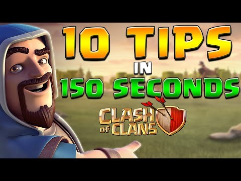 10 Tips & Tricks in 150 Seconds – Clash of Clans Edition