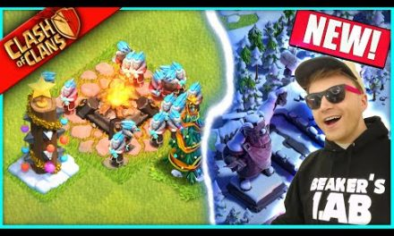 …BUYING THAT SECRET WINTER BASE IN CLASH OF CLANS!