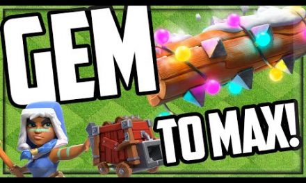 GEM TO MAX Town Hall 13 – Clash of Clans Update!