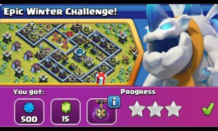 How to BEAT the Epic Winter Challenge Map! – Clash of Clans