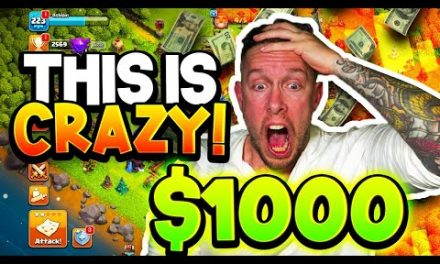 WILL $1,000 MAX MY OLD CLASH OF CLANS ACCOUNT?