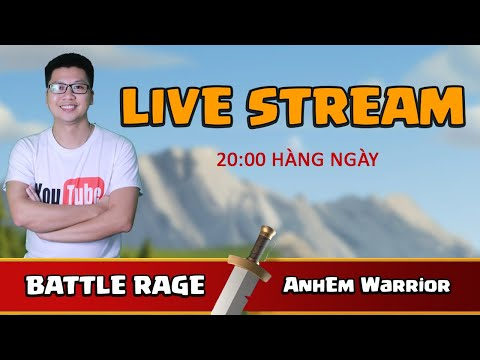 BATTLE RAGE vs AnhEm Warrior | TH13 ATTACK Clash of clans | Akari Gaming