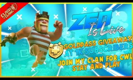 LET'S VISIT YOUR BASE AND GIVING U TIPS + GOLDPASS GIVEAWAY AT 1K    CLASH OF CLANS LIVE 🇮🇳