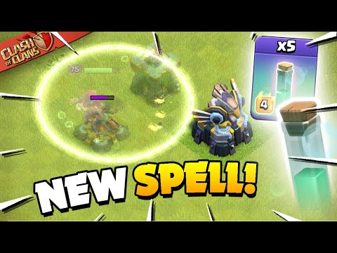 Update Sneak Peeks – New Invisibility Spell (Clash of Clans)