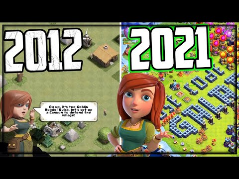 2012 to 2021 – Clash of Clans HISTORY!