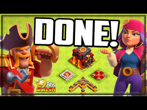 FINALLY MAXED Out- It's AMAZING! Clash of Clans Gold Pass Clash #48