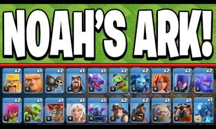 NOAH'S ARK Actually Works?! – Clash of Clans
