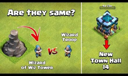 Wizard Vs Wizard Tower's Wizard   Town Hall 14 Update 2021   Clash of Clans