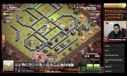 COC LOVE vs RED COMET (JAPAN) CWL TH13 ATTACK Clash of clans | Akari Gaming