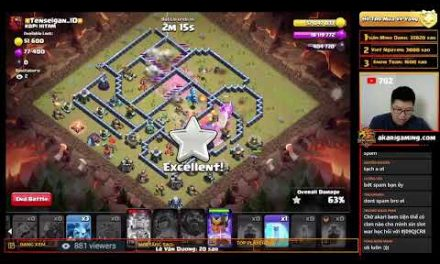 COC LOVE vs KOPI HITAM (INDONESIA) CWL TH13 ATTACK Clash of clans | Akari Gaming