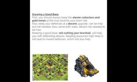 Clash of Clans Advice Website (link in description)