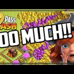 TOO MUCH LOOT – I Can't Play Clash of Clans!