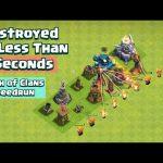 Level 1 Defense Formation Speedrun | Clash of Clans