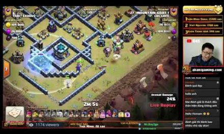 COC LOVE  vs THAI! EXODUS (THAILAND) LIVE TH13 ATTACK Clash of clans | Akari Gaming