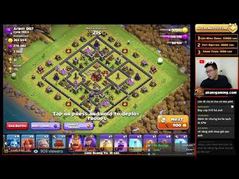 COC LOVE vs DASTAN (IRAN) CWL TH13 ATTACK Clash of clans | Akari Gaming