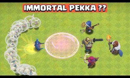 Making PEKKA IMMORTAL | PEKKA Vs Heroes | Clash of Clans