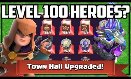 LEVEL 100 Heroes, Builder Hall 10, I'm READY! Clash of Clans Gem to MAX