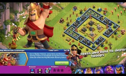 New Update Clash of Clans : Hog Mountain Challenge, Warrior King, Lunar new Year, New Scenery