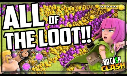 The BEST FARMING STRATEGY in Clash of Clans! 100% LOOT!
