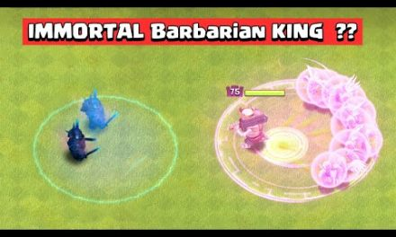 Most Powerful Barbarian KING Vs 1 Troop Challenge | Clash of Clans Update