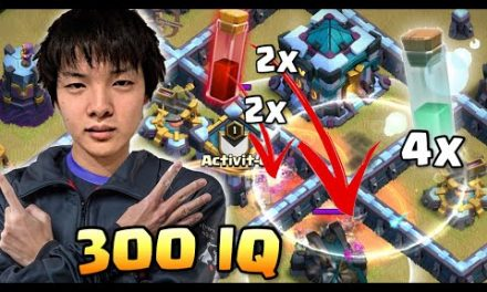 QUEEN WALKERS DISCOVERED NEW 300 IQ SKELLY DONUT TRICK!   Clash of Clans eSports