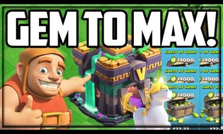 GEM to MAX Town Hall 14 in Clash of Clans!