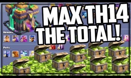 THE TOTAL: Town Hall 14 GEMMED to MAX in Clash of Clans