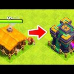 "Secret Way to Upgrade Fast to TH14 ""Clash Of Clans"" Th9-11 edition"