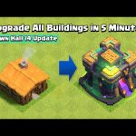 Upgrade All Buildings in 5 Minutes Remastered (New Town Hall 14 Edition) | Clash of Clans