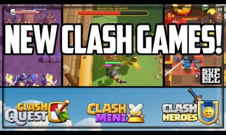 THREE NEW Clash Games! Sneak Peeks From Supercell!