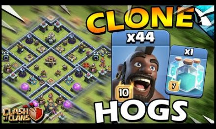 CLONE 44 HOGS in Legends!! So MANY PIGS in Clash of Clans!