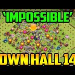 First Ever 'IMPOSSIBLE' ALL Level 1 Town Hall 14! Clash of Clans