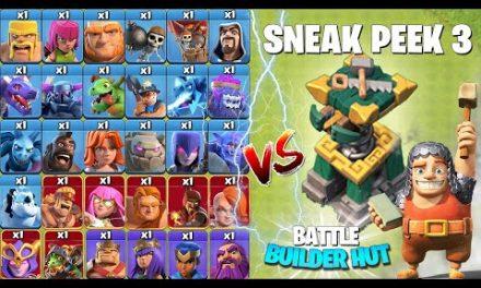 Town Hall 14! BATTLE BUILDER HUT Revealed! Clash of Clans Update Sneak Peek 3! Coc Update 2021